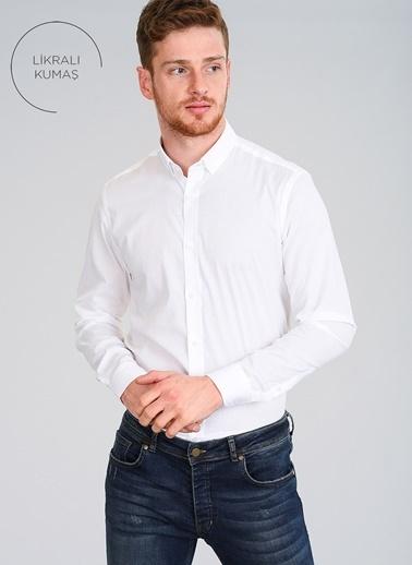 People By Fabrika Gömlek Beyaz
